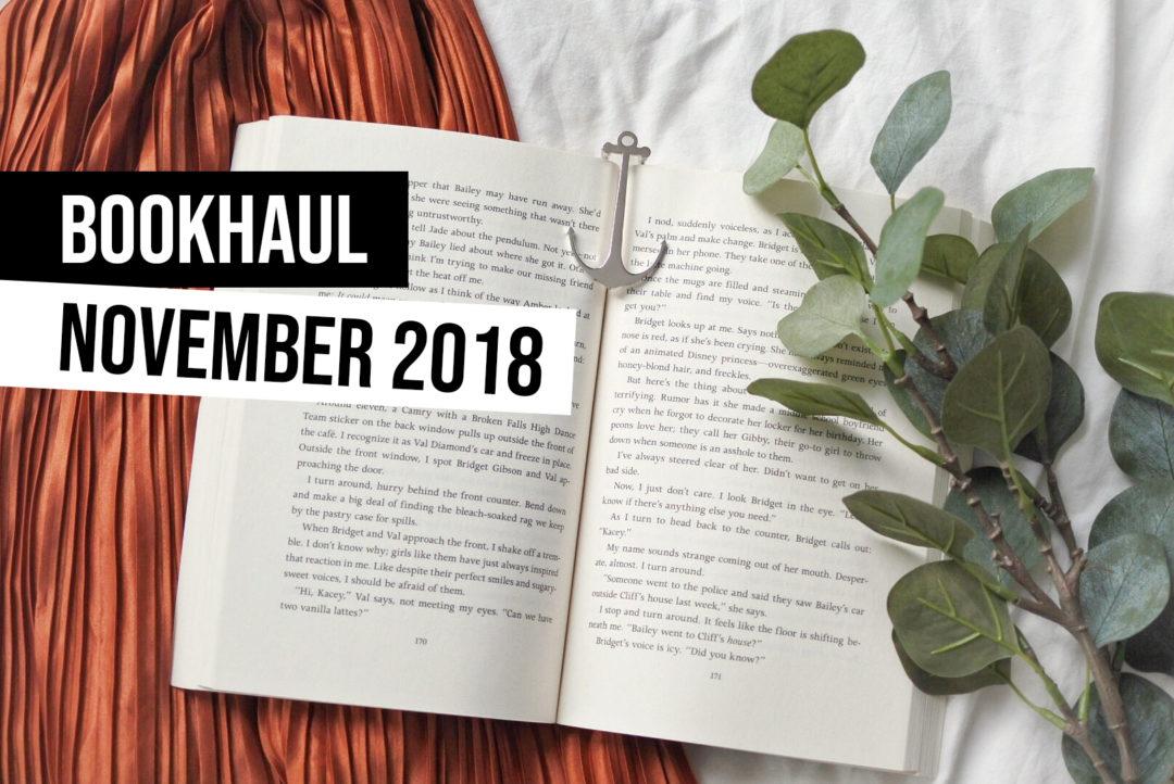 bookhaul november